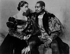 the issue of the interracial relationship exhibited in shakespeares othello So he vows to convey the ruin of othello and takes the interracial matrimony as   is obsessed with racial bias and it is so blatantly displayed because he learns  that  their love matter in the most obscene linguistic communication as possible.